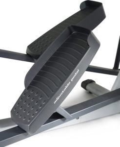 The pedals of the ProForm Hybrid Elliptical Trainer
