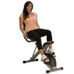 Exerpeutic 400XL Folding Recumbent Exercise Bike