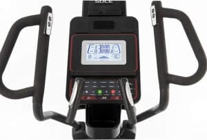 The console of the Sole E35 Elliptical Trainer