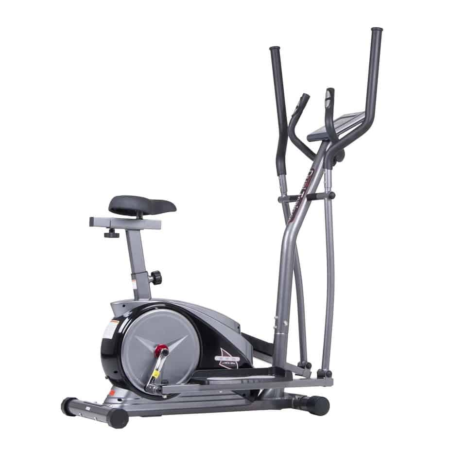 Body Champ 2-in-1 Cardio Dual Trainer Dark Gray/Black