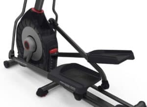 The drive and the pedals of the Schwinn 430 Elliptical Machine (2016)