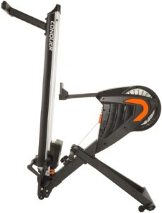 The folded Conquer Indoor Magnetic Air Rowing Machine