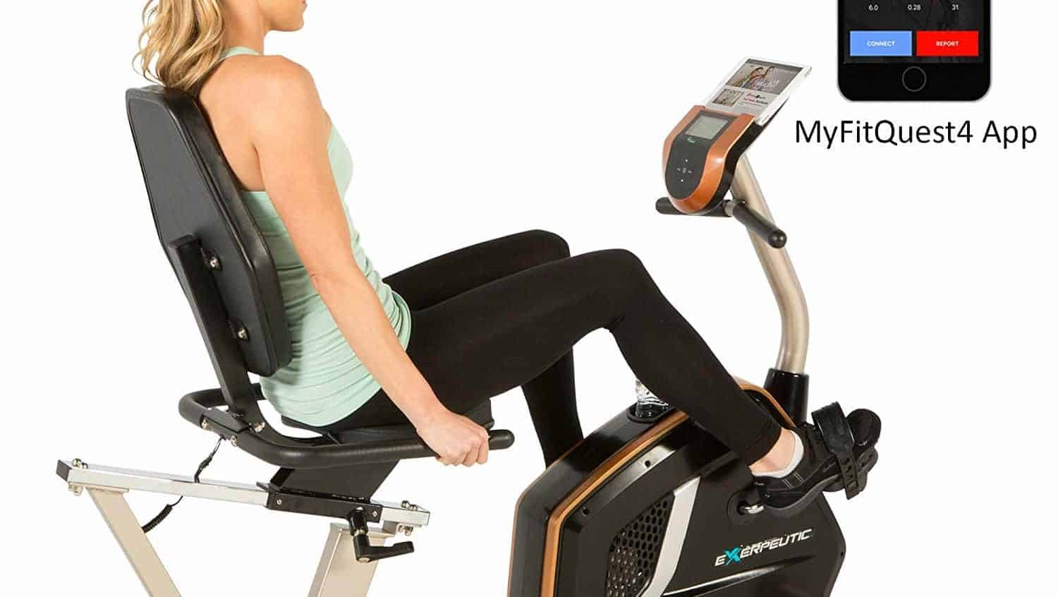 Exerpeutic Gold 975 Recumbent Exercise Bike Review