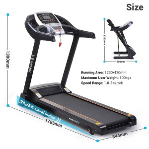 Ancheer S9100 Treadmill 2017 Review
