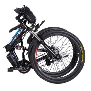 Ancheer Power Plus Folding Electric Mountain Bike With 26'' Wheel Review