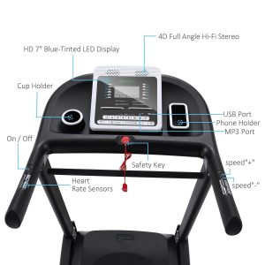Ancheer Treadmilll APP Bluetooth Control Newest S9300 Review