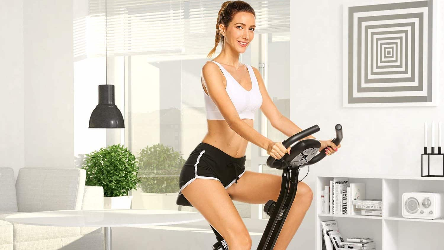 Ancheer Magnetic Foldable Exercise Bike Review