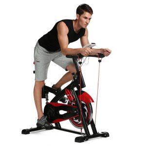 Ancheer Indoor Cycling Bike SP-4013 Ultra-quiet Fitness Spin Bike with LCD Monitor Review