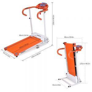 TOMSHOO 1100W Motorized Folding Electric Treadmill Review