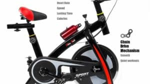 XtremepowerUS Indoor Cycle Trainer Fitness Bike Review