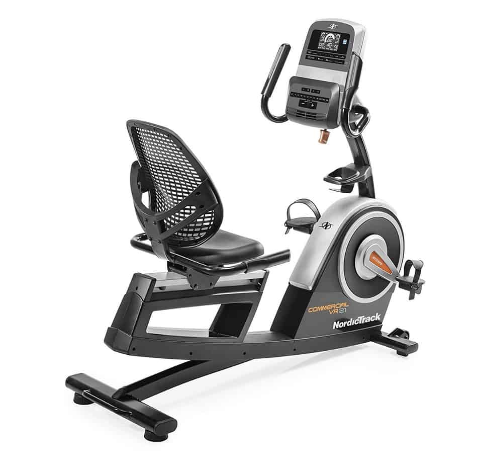 Nordic Track Commercial Vr21 Recumbent Bike Review