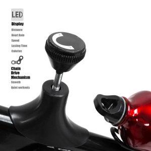 XtremepowerUS Indoor Cycle Trainer Fitness Bike