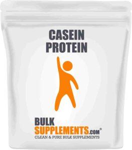 Bulk Supplements Pure Casein Protein Powder