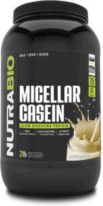 NutraBio 100 Micellar Casein Protein