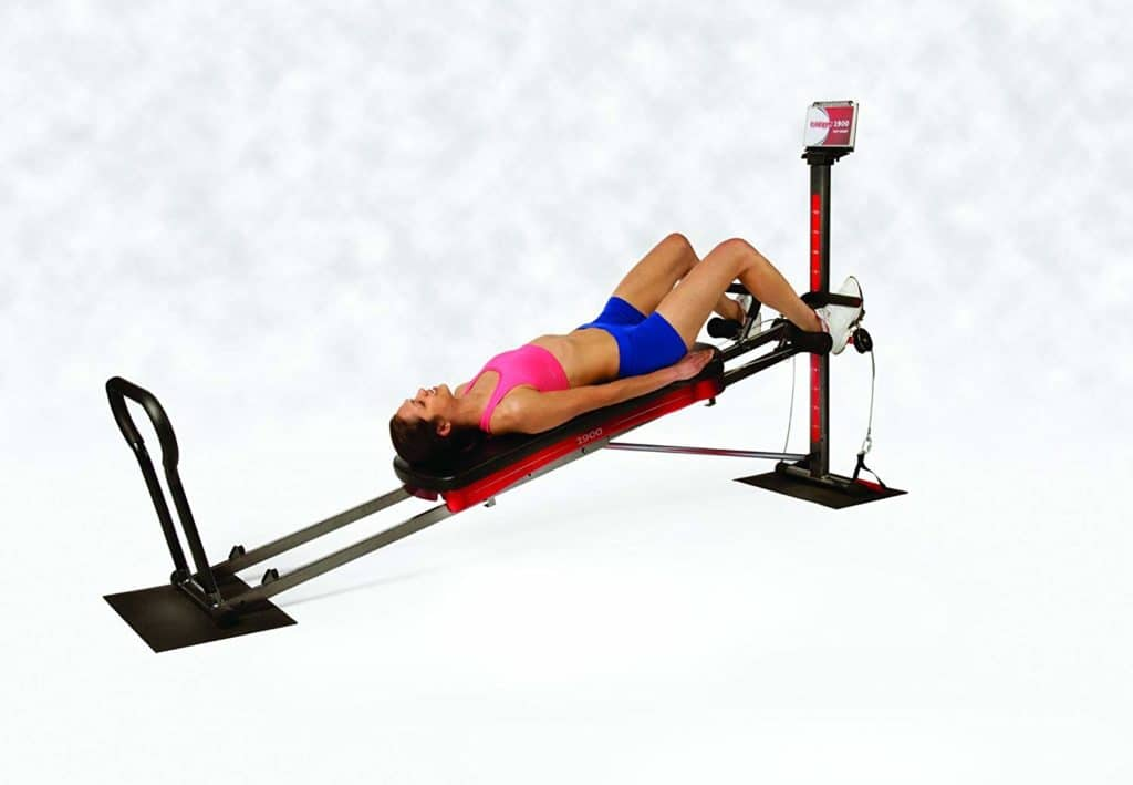 Total Gym 1900 being used by  a woman