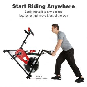 Finether Indoor Chain Driven Stationary Exercise Bike Review