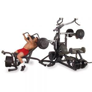 Body-Solid Freeweight Leverage Commercial Gym Package SBL460P4