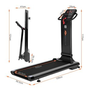 Goplus 1.5HP Electric Folding Treadmill LED Touch Screen Review