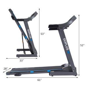 Goplus 2.25HP Folding Electric Treadmill (K1431) Review