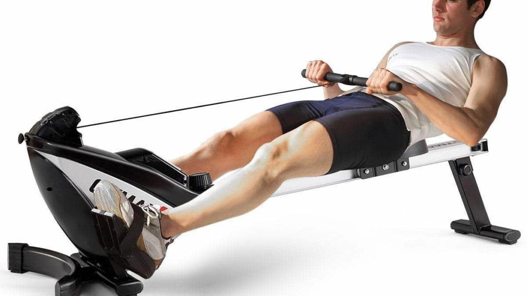 Goplus Magnetic Folding Rowing Machine Review How To