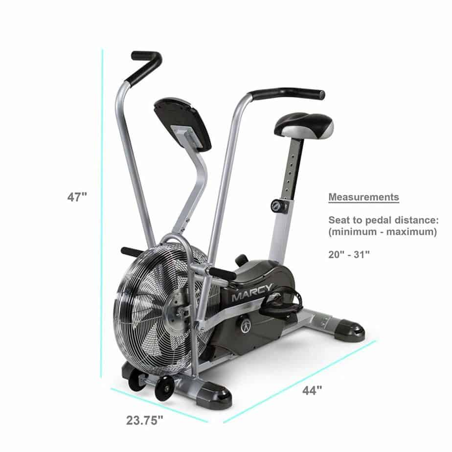 Marcy Air 1 Exercise Upright Fan Bike
