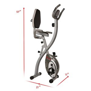 Sunny Health & Fitness SF-B2721 Comfort XL Folding Recumbent Bike Review