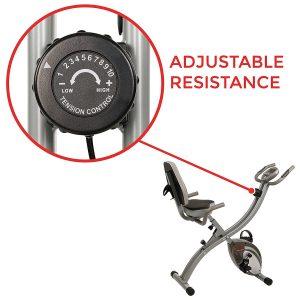 Sunny Health & Fitness SF-B2721 Comfort XL Folding Recumbent Bike Review