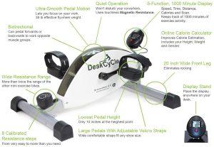 DeskCycle Desk Exercise Bike pedal Exerciser Review