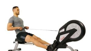 Sunny Health & Fitness SF-RW5623 Air Rowing Machine Rower Review
