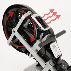 Sunny Health& Fitness SF-RW5623 Air Rowing Machine Rower Review