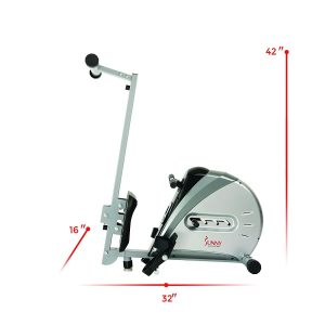 Sunny Health & Fitness SF-RW5606 Elastic Cord Rowing Machine Rower Review