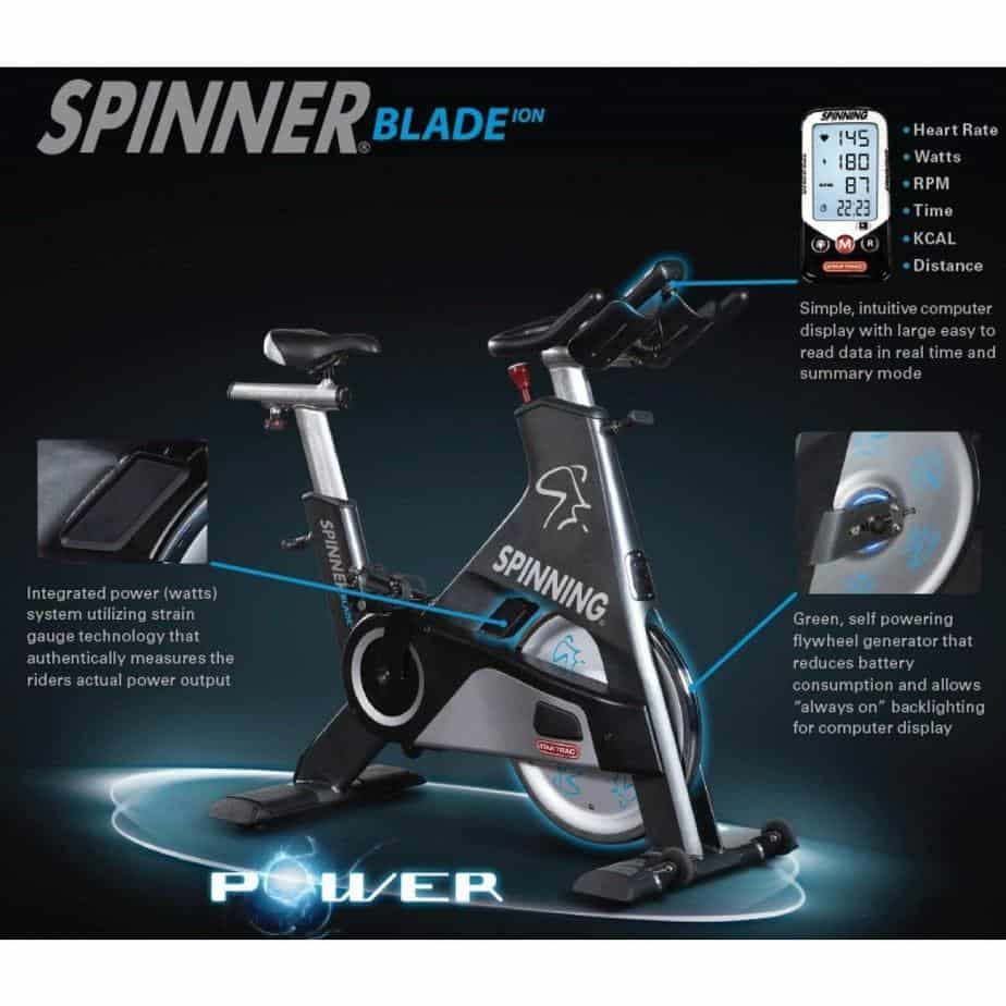 Spinner Blade ION Indoor Cycling Bike by Star Trac Review