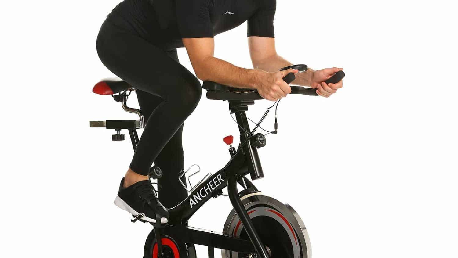 ANCHEER Indoor Belt Drive Cycling Bikes with 40LBS Flywheel (Model: ANCHEER-A5001) Review