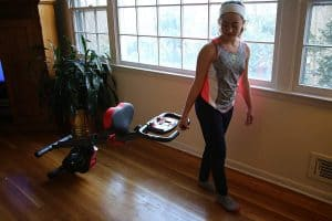 Ivation Foldable Exercise Upright Bike Review
