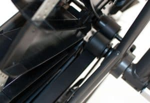 The drive of Octane Fitness AirDyneX Fan Bike Review