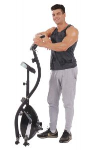 PLENY Foldable Upright Stationary Exercise Bike Review