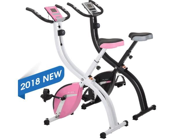 PLENY Foldable Upright Stationary Exercise Bike Review