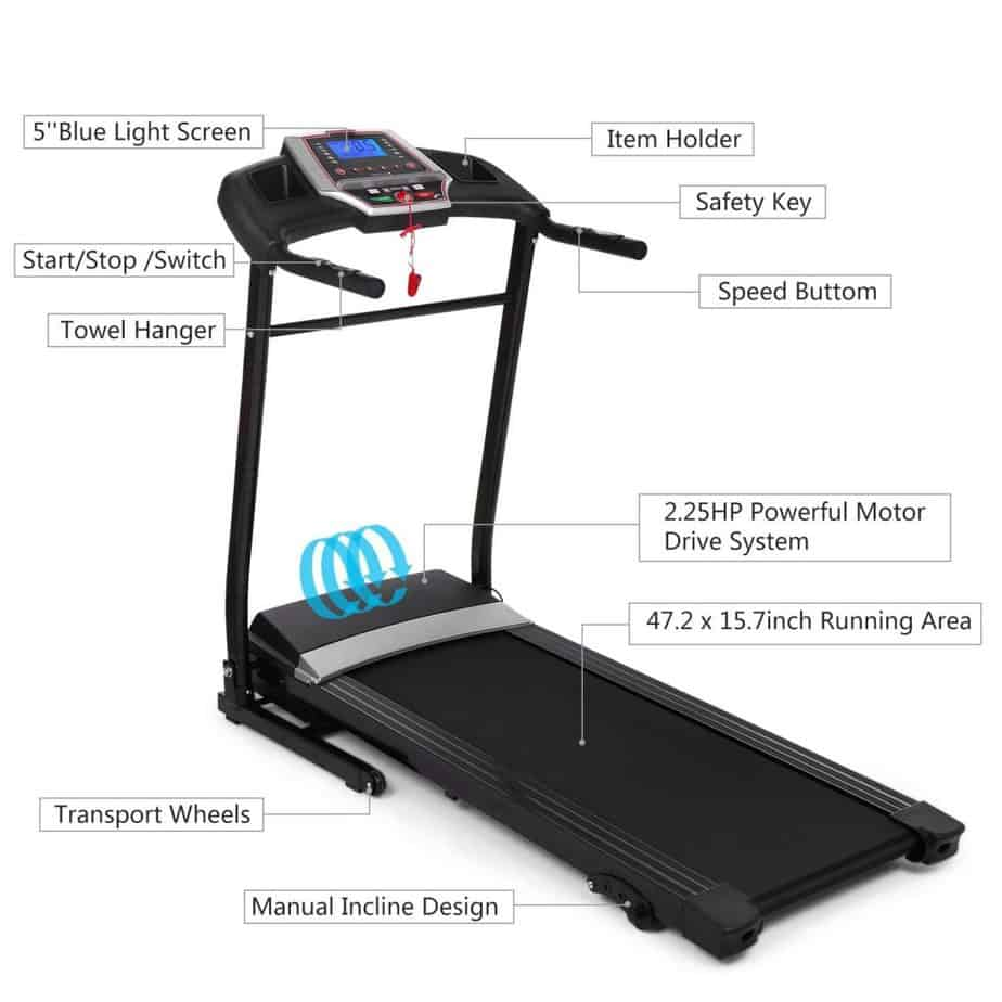 Aceshin Electric Support Motorized Walking Treadmill Review
