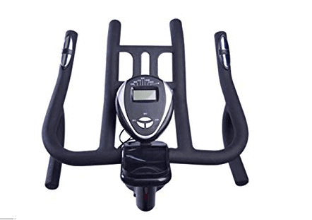 Pooboo Pro Indoor Belt Drive Exercise Bike with Dumbbells Model D770