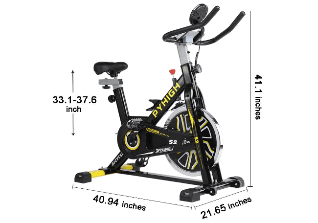 PHYHIGH S2 Belt Drive Indoor Cycling Bike Review
