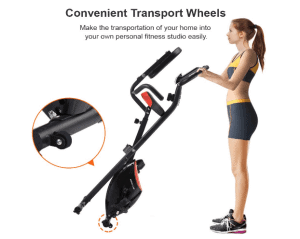 IDEER LIFE Exercise Indoor Foldable Magnetic Bike Review