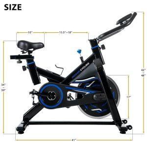 Merax Deluxe Indoor Cycling Trainer Bike Review