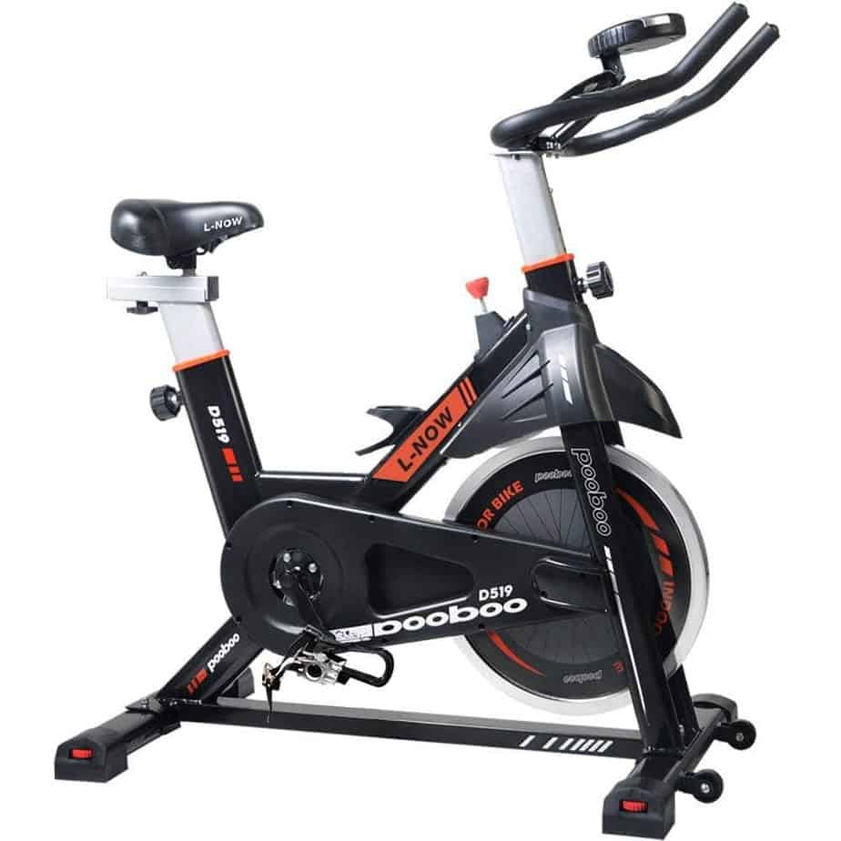 Pooboo Indoor Cycling Bike Belt Drive Pro Exercise Bike Review