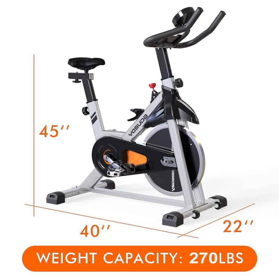 YOSUDA Indoor Cycling Bike Stationary Bike Model L-001A Review