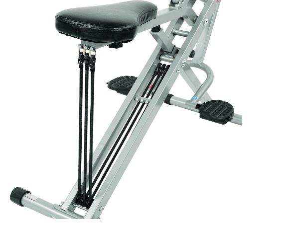 Sunny Health & Fitness Squat Assist Row-N-Ride Trainer (Model No. 077)
