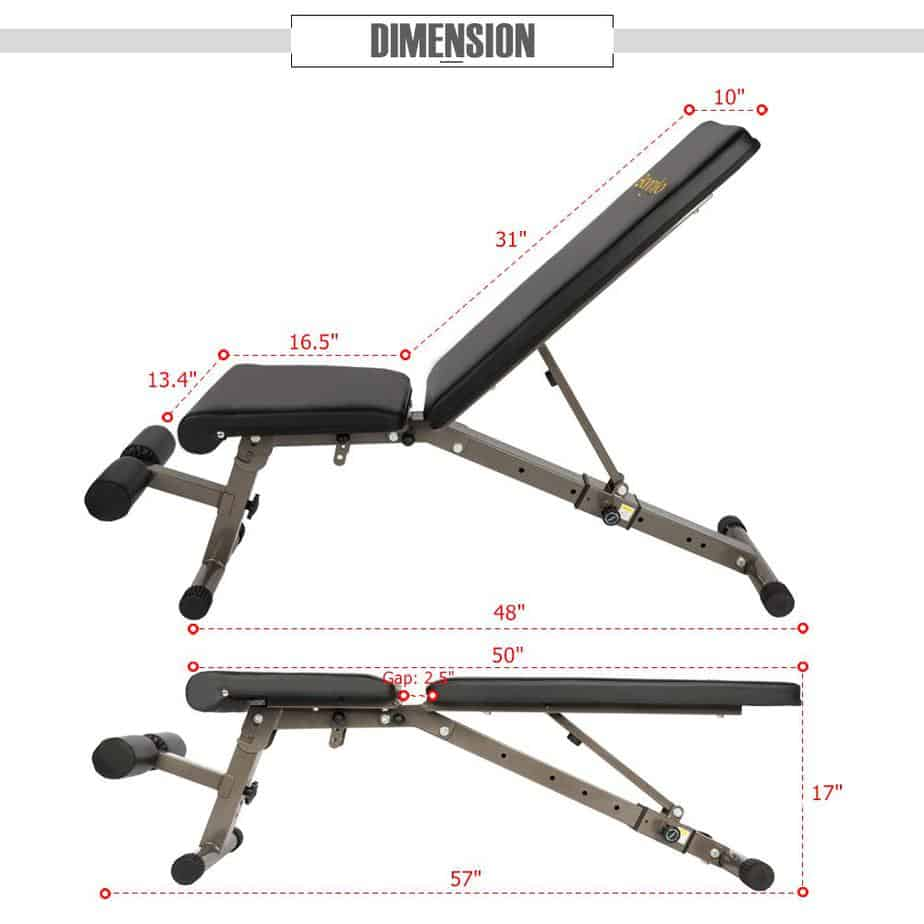 Bonnlo Upgraded Adjustable Bench Review