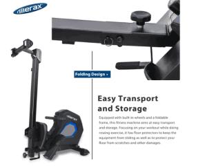 Merax Adjustable Magnetic Resistance Rower Review