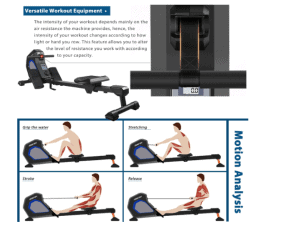 Merax Adjustable Magnetic Resistance Rower Review