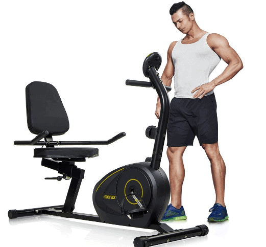 Merax Magnetic Recumbent Exercise Bike Review