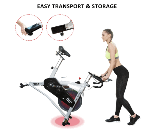 SNODE Indoor Cycling Spin Bike Trainer Model 8729 Review